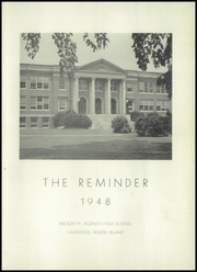 Page 5, 1948 Edition, Aldrich High School - Reminder Yearbook (Lakewood, RI) online yearbook collection
