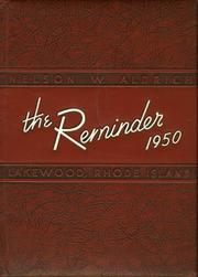 1950 Edition, Aldrich High School - Reminder Yearbook (Lakewood, RI)