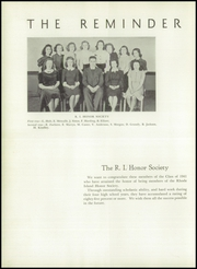 Page 12, 1941 Edition, Gorton High School - Echo Yearbook (Warwick, RI) online yearbook collection