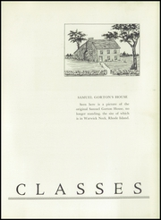 Page 13, 1941 Edition, Gorton High School - Echo Yearbook (Warwick, RI) online yearbook collection