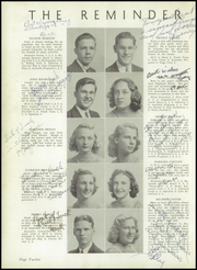 Page 16, 1941 Edition, Gorton High School - Echo Yearbook (Warwick, RI) online yearbook collection