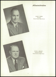 Page 10, 1955 Edition, Gorton High School - Echo Yearbook (Warwick, RI) online yearbook collection