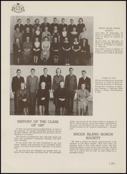 Page 16, 1937 Edition, Lockwood High School - Reminder Yearbook (Warwick, RI) online yearbook collection