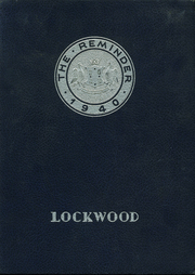 Page 1, 1940 Edition, Lockwood High School - Reminder Yearbook (Warwick, RI) online yearbook collection
