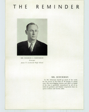Page 10, 1940 Edition, Lockwood High School - Reminder Yearbook (Warwick, RI) online yearbook collection
