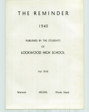 Page 7, 1940 Edition, Lockwood High School - Reminder Yearbook (Warwick, RI) online yearbook collection