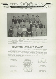 Page 14, 1942 Edition, Lockwood High School - Reminder Yearbook (Warwick, RI) online yearbook collection