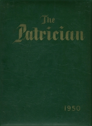 Page 1, 1950 Edition, St Patricks High School - Patrician Yearbook (Providence, RI) online yearbook collection