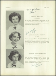 Page 11, 1950 Edition, St Patricks High School - Patrician Yearbook (Providence, RI) online yearbook collection