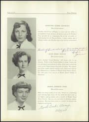Page 17, 1950 Edition, St Patricks High School - Patrician Yearbook (Providence, RI) online yearbook collection