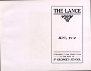 Page 3, 1912 Edition, St Georges High School - Lance Yearbook (Middletown, RI) online yearbook collection
