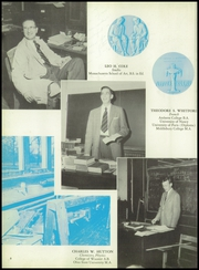 Page 12, 1956 Edition, Moses Brown School - Mosaic Yearbook (Providence, RI) online yearbook collection