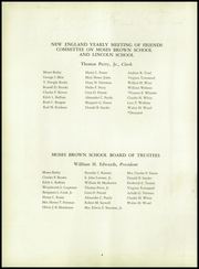 Page 8, 1956 Edition, Moses Brown School - Mosaic Yearbook (Providence, RI) online yearbook collection