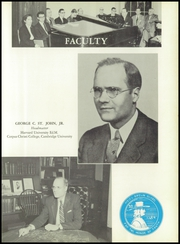 Page 9, 1956 Edition, Moses Brown School - Mosaic Yearbook (Providence, RI) online yearbook collection
