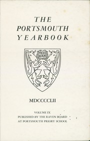 Page 3, 1952 Edition, Portsmouth Abbey School - Raven Yearbook (Portsmouth, RI) online yearbook collection