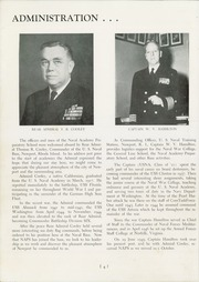 Page 10, 1950 Edition, US Naval Academy and Preparatory School - Cruise Yearbook (Newport, RI) online yearbook collection