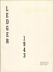 Page 7, 1943 Edition, Bryant University - Ledger Yearbook (Smithfield, RI) online yearbook collection