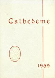 Page 1, 1959 Edition, St Catherine Academy - Cathedeme Yearbook (Newport, RI) online yearbook collection