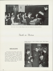 Page 12, 1962 Edition, St Catherine Academy - Cathedeme Yearbook (Newport, RI) online yearbook collection