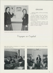Page 13, 1962 Edition, St Catherine Academy - Cathedeme Yearbook (Newport, RI) online yearbook collection
