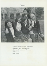 Page 11, 1969 Edition, St Catherine Academy - Cathedeme Yearbook (Newport, RI) online yearbook collection