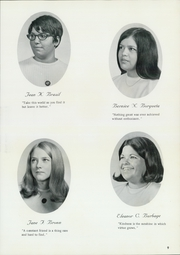 Page 13, 1969 Edition, St Catherine Academy - Cathedeme Yearbook (Newport, RI) online yearbook collection