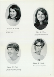 Page 15, 1969 Edition, St Catherine Academy - Cathedeme Yearbook (Newport, RI) online yearbook collection