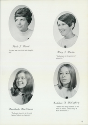 Page 17, 1969 Edition, St Catherine Academy - Cathedeme Yearbook (Newport, RI) online yearbook collection