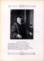 Page 12, 1924 Edition, Brown University - Liber Brunensis Yearbook (Providence, RI) online yearbook collection