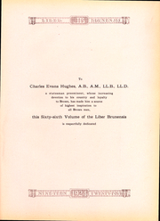 Page 4, 1924 Edition, Brown University - Liber Brunensis Yearbook (Providence, RI) online yearbook collection
