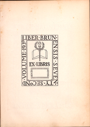 Page 4, 1930 Edition, Brown University - Liber Brunensis Yearbook (Providence, RI) online yearbook collection
