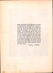 Page 9, 1930 Edition, Brown University - Liber Brunensis Yearbook (Providence, RI) online yearbook collection
