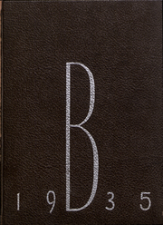 Page 1, 1935 Edition, Brown University - Liber Brunensis Yearbook (Providence, RI) online yearbook collection