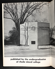 Page 6, 1965 Edition, Rhode Island College - Ricoled Yearbook (Providence, RI) online yearbook collection