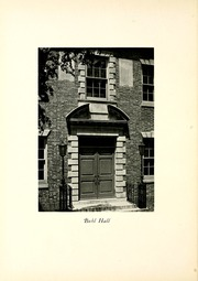 Page 16, 1933 Edition, Chatham College - Cornerstone Yearbook (Pittsburgh, PA) online yearbook collection
