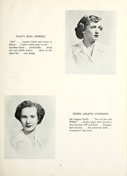 Page 11, 1951 Edition, Chatham College - Cornerstone Yearbook (Pittsburgh, PA) online yearbook collection