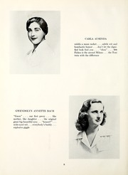Page 12, 1951 Edition, Chatham College - Cornerstone Yearbook (Pittsburgh, PA) online yearbook collection