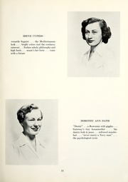 Page 17, 1951 Edition, Chatham College - Cornerstone Yearbook (Pittsburgh, PA) online yearbook collection