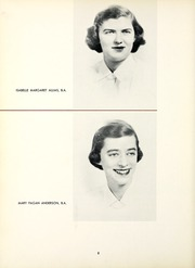 Page 12, 1954 Edition, Chatham College - Cornerstone Yearbook (Pittsburgh, PA) online yearbook collection