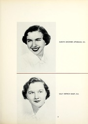 Page 13, 1954 Edition, Chatham College - Cornerstone Yearbook (Pittsburgh, PA) online yearbook collection