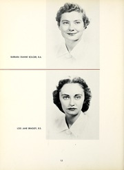 Page 16, 1954 Edition, Chatham College - Cornerstone Yearbook (Pittsburgh, PA) online yearbook collection