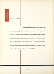 Page 6, 1954 Edition, Chatham College - Cornerstone Yearbook (Pittsburgh, PA) online yearbook collection