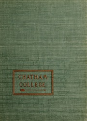 Page 1, 1957 Edition, Chatham College - Cornerstone Yearbook (Pittsburgh, PA) online yearbook collection