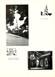 Page 12, 1957 Edition, Chatham College - Cornerstone Yearbook (Pittsburgh, PA) online yearbook collection