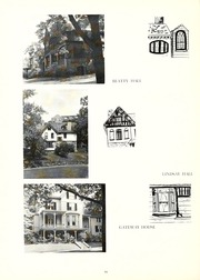 Page 14, 1957 Edition, Chatham College - Cornerstone Yearbook (Pittsburgh, PA) online yearbook collection