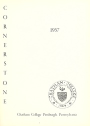 Page 5, 1957 Edition, Chatham College - Cornerstone Yearbook (Pittsburgh, PA) online yearbook collection