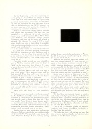 Page 6, 1957 Edition, Chatham College - Cornerstone Yearbook (Pittsburgh, PA) online yearbook collection
