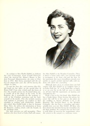Page 7, 1957 Edition, Chatham College - Cornerstone Yearbook (Pittsburgh, PA) online yearbook collection