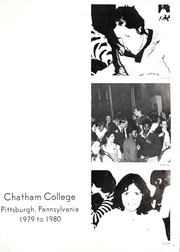 Page 5, 1980 Edition, Chatham College - Cornerstone Yearbook (Pittsburgh, PA) online yearbook collection