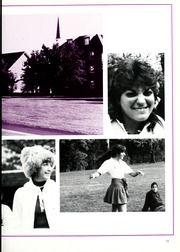 Page 17, 1986 Edition, Chatham College - Cornerstone Yearbook (Pittsburgh, PA) online yearbook collection